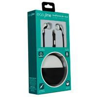 AUDIFONOS IN-EAR CON MICROFONO EASY LINE BY PERFECT CHOICE BLACK/WHITE
