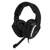 AUDIFONOS ON-EAR MAGMA GAMING BALAM RUSH/ACTECK/PUERTO 3.5MM AUDIO Y MICROFONO/ PUERTO USB LUZ LED//2 CANALES/LED BLANCO/MICROFONO/COLOR NEGRO/BR-929769