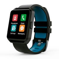 GHIA SMART WATCH/ PANTALLA 1.54 TOUCH / BT / IOS / ANDROID / NEGRO - AZUL